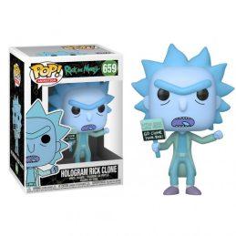 Funko Pop Hologram Rick Clone
