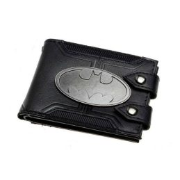 Billetera Batman (logo metal)