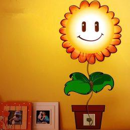 Lámpara de pared de Girasol