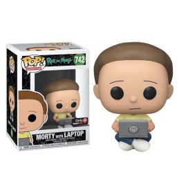 Funko Pop Morty with Laptop