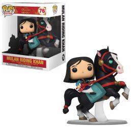 Funko Pop Mulan Riding Khan