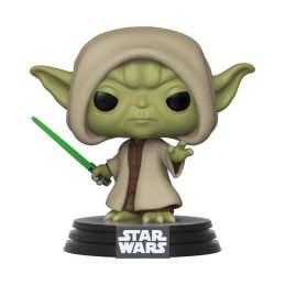Funko Pop Yoda Hooded