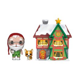Funko Pop Santa Claus House
