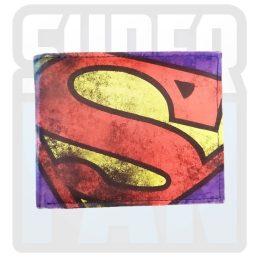 Billetera Superman Morada