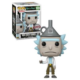 Funko Pop Rick with Funnel Hat