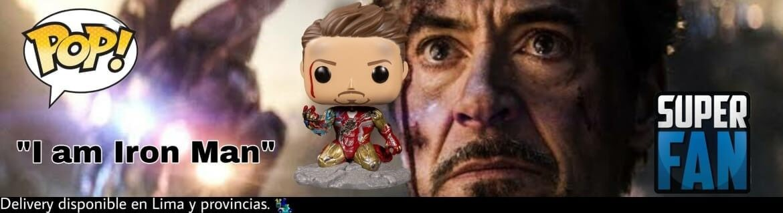 Funko Pop I am Iron Man